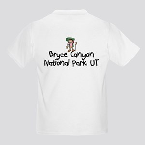 Hike Bryce Canyon (Girl) Kids Light T-Shirt