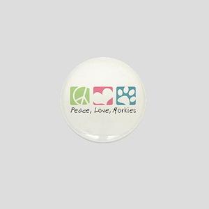 Peace, Love, Morkies Mini Button