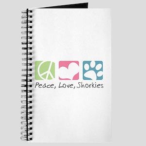 Peace, Love, Shorkies Journal