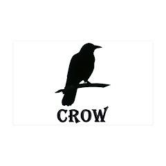 Black Crow Wall Decal