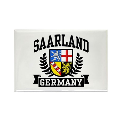 Saarland Germany Rectangle Magnet