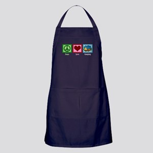 Peace Love Camping Apron (dark)