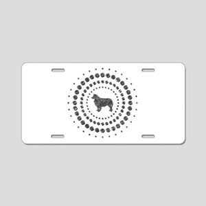 Australian Shepherd Dog Aluminum License Plate