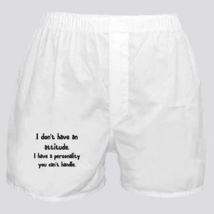 personality Boxer Shorts
