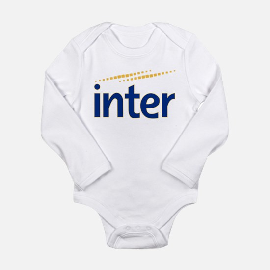 Inter milan Long Sleeve Infant Bodysuit