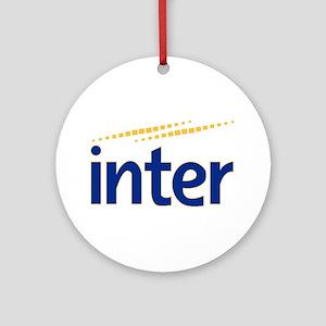 Inter milan Ornament (Round)