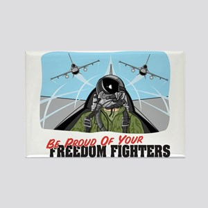 Freedom Fighters Rectangle Magnet