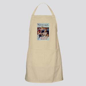 Lot's to Eat Garden BBQ Apron