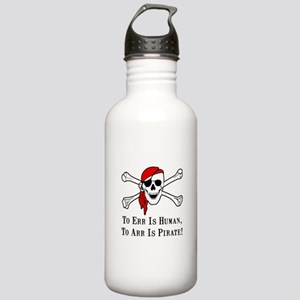 To Arr Is Pirate Skull Stainless Water Bottle 1.0L