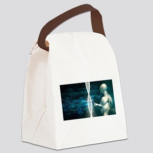 Biotechnology Canvas Lunch Bag