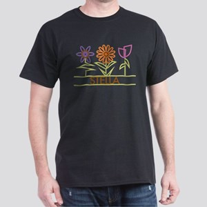 Stella with cute flowers Dark T-Shirt