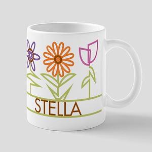 Stella with cute flowers Mug