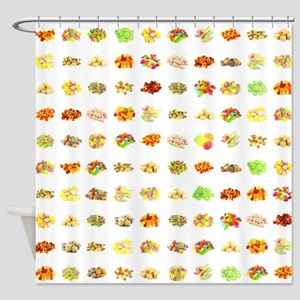 Sweets and Candy Shower Curtain