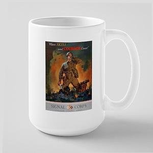 Army Skill and Courage Large Mug