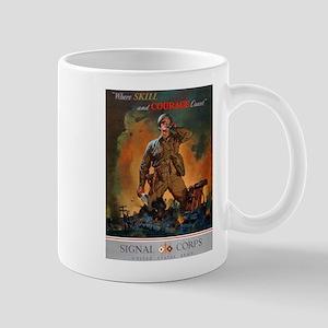 Army Skill and Courage Mug