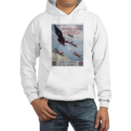 Wings Over America Air Corps Hooded Sweatshirt