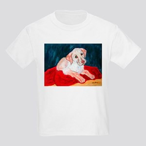 Yellow Lab Puppy Kids T-Shirt