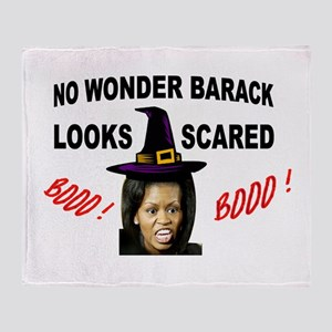 SCARY SIGHT Throw Blanket
