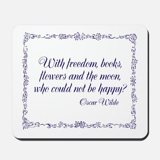 Oscar Wilde Mousepad
