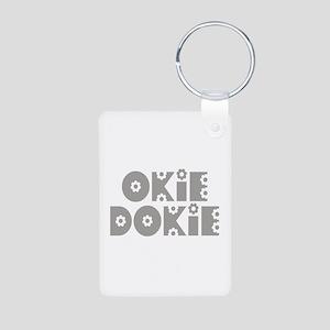 OkieDokie_Fa_Gray Aluminum Photo Keychain