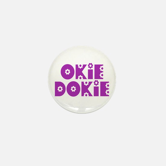 OkieDokie_So_Purple Mini Button