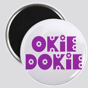 OkieDokie_So_Purple Magnet