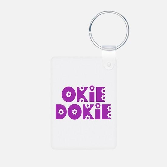 OkieDokie_So_Purple Keychains
