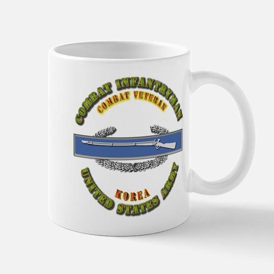 Army - CIB - 1st Award - Korea Mug