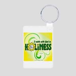 ACIM-I Walk with God Aluminum Photo Keychain