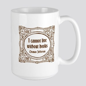 Thomas Jefferson (brown) Large Mug