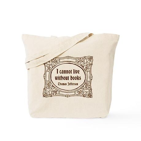 Thomas Jefferson (brown) Tote Bag