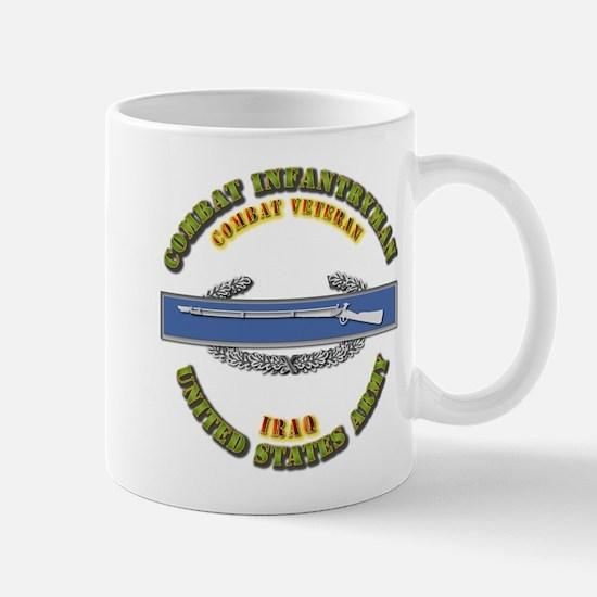 Army - CIB - 1st Award - Iraq Mug