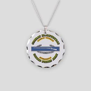 Army - CIB - 1st Award - Afghanistan Necklace Circ