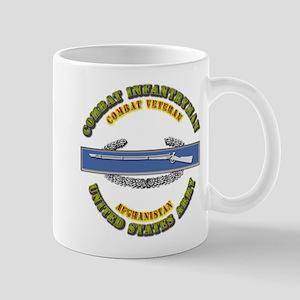 Army - CIB - 1st Award - Afghanistan Mug