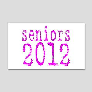 2012 Typo Pink 22x14 Wall Peel