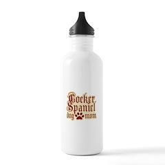 Cocker Spaniel Mom Water Bottle