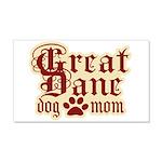 Great Dane Mom 22x14 Wall Peel