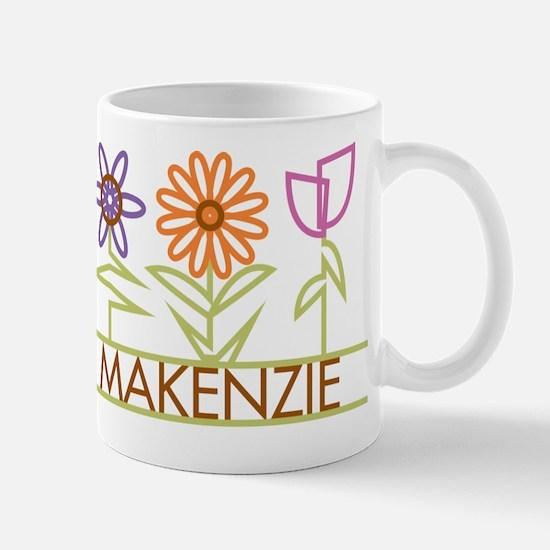 Makenzie with cute flowers Mug