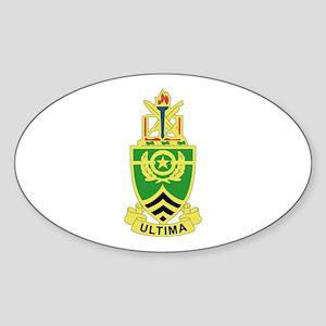 DUI - Sergeants Major Academy Sticker (Oval)