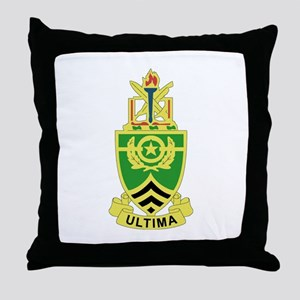 DUI - Sergeants Major Academy Throw Pillow