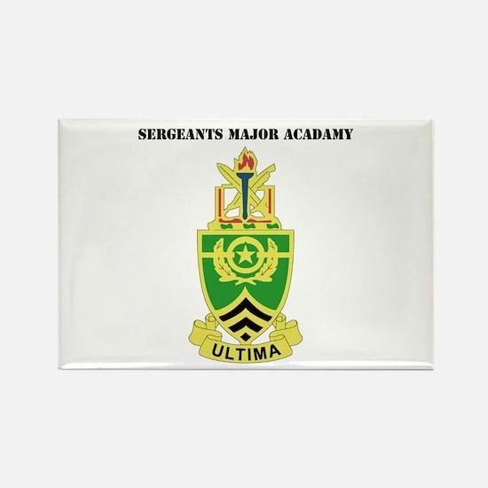 DUI - Sergeants Major Academy with Text Rectangle