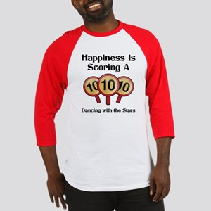 """Happiness is..."" Baseball Jersey"