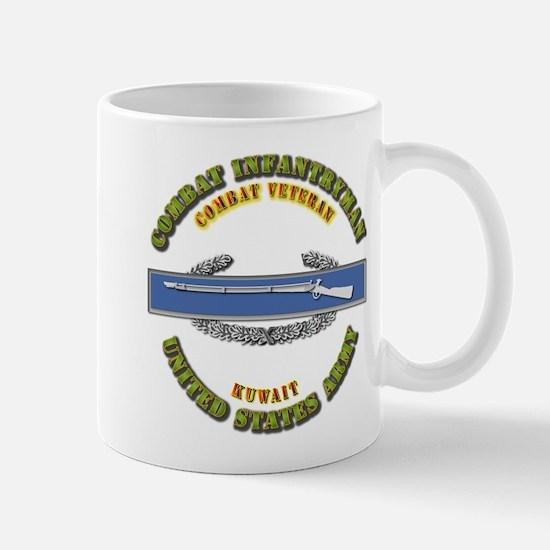 Army - CIB - 1st Award - Kuwait Mug