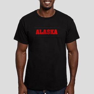 'Girl From Alaska' Men's Fitted T-Shirt (dark)
