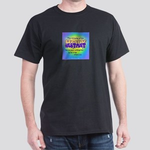 ACIM-Walk with God Dark T-Shirt