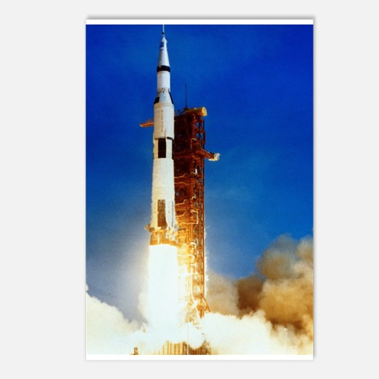 Saturn V Launch Postcards (Package of 8)