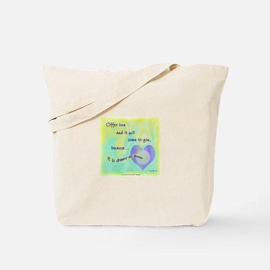 ACIM-Offer Love Tote Bag