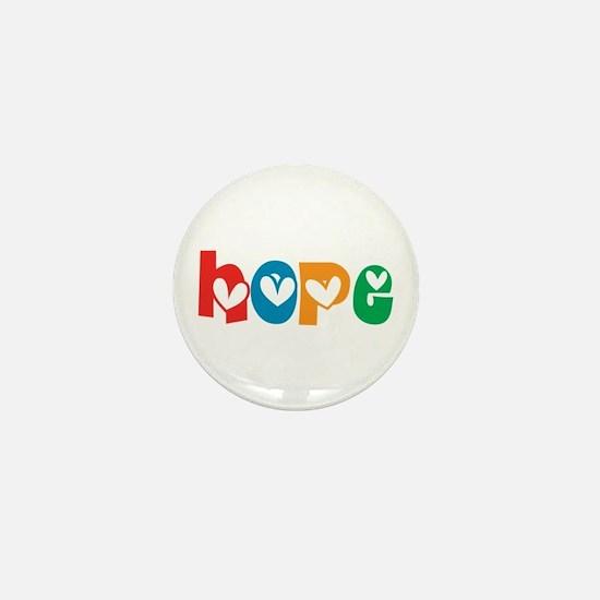 Hope_4Color_1 Mini Button