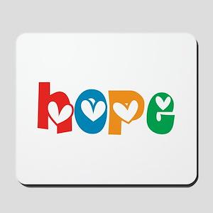 Hope_4Color_1 Mousepad