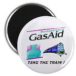 Gas Aid - Take The Train Magnet